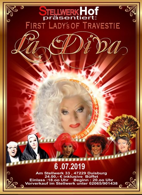 Eventbild von Travestie La Diva - die Verwandlungsshow - Winteredition